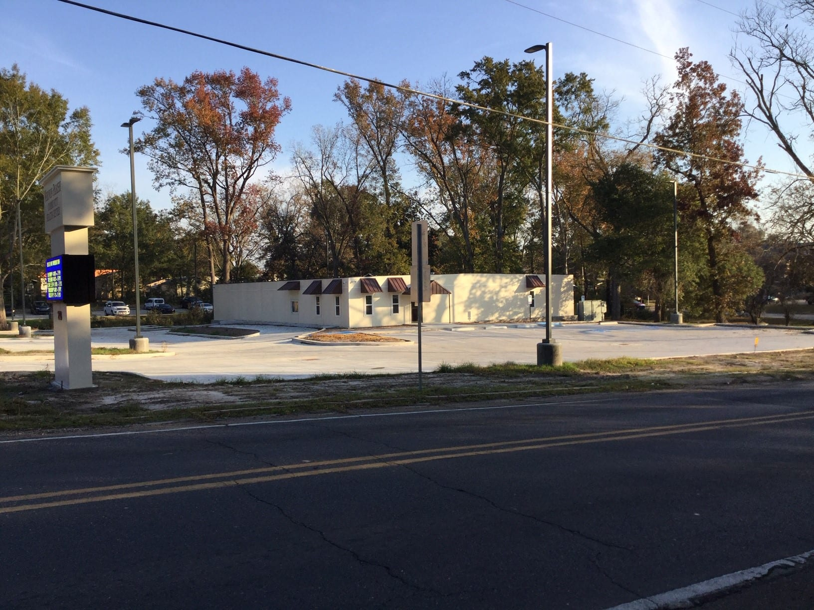 Leesville Community Health Center - Modular Bldg. Site Improvements