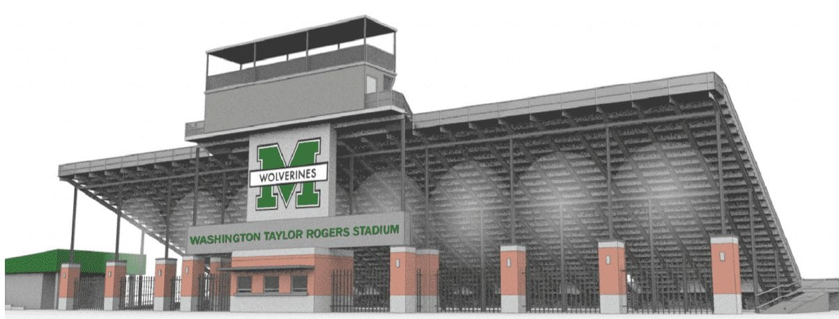 New Football Facilities for Mansfield High School